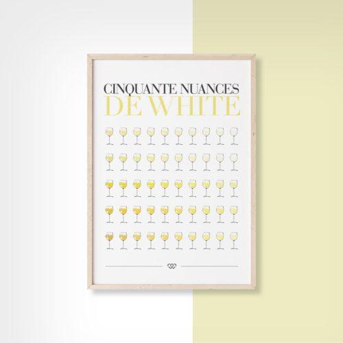 Affiche Cinquante nuances de white 2 We Love Bourgogne